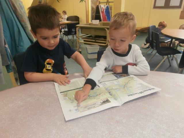 Children talking about travel