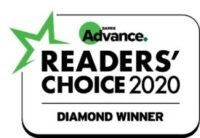 Reader's Choice 2020 Award