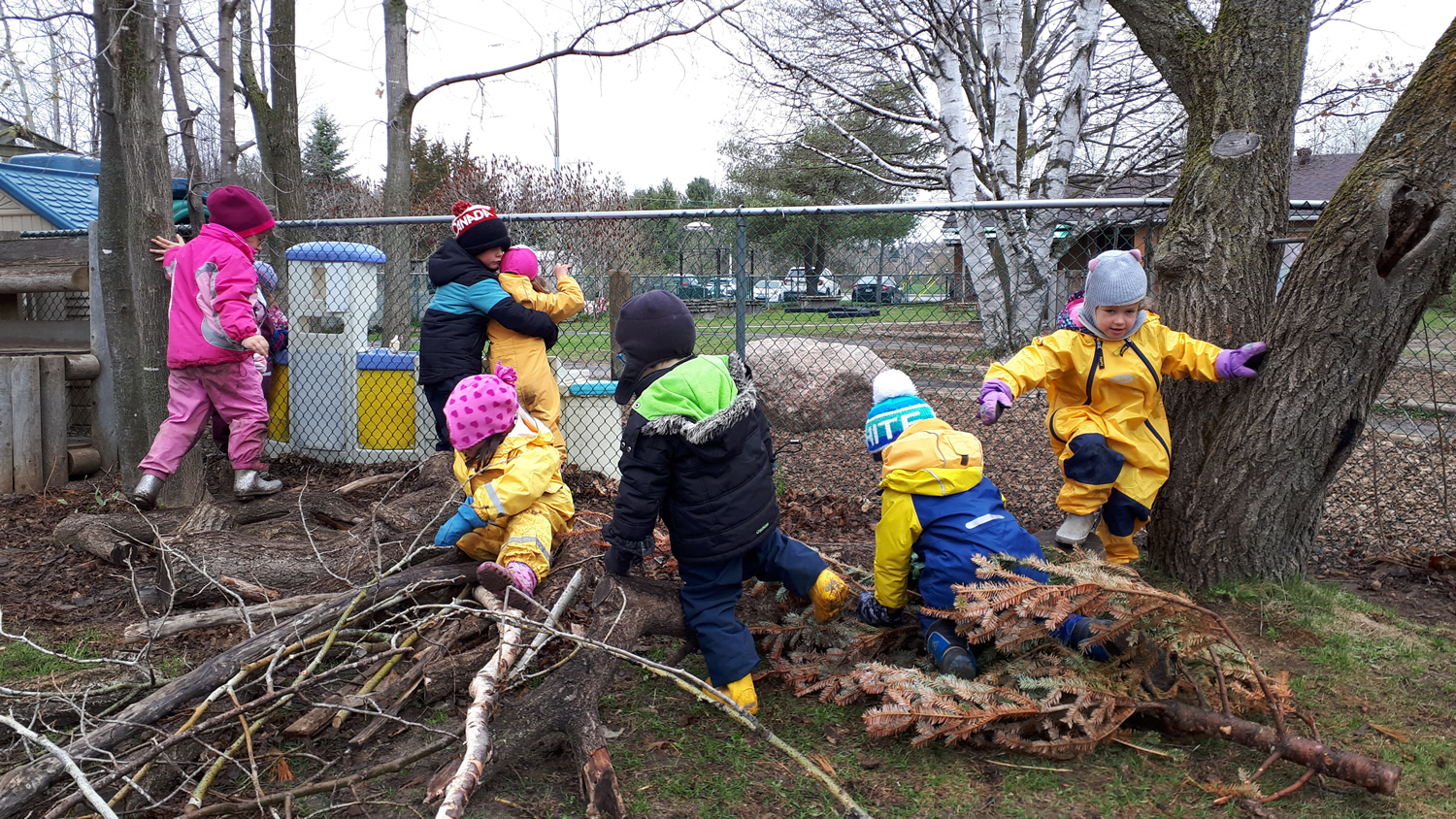 Forest School Outdoor Play